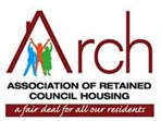 Association of Retained Council Housing logo