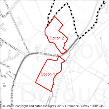 Brinsley options map