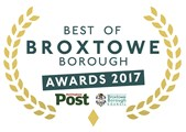 Best of Broxtowe Borough Awards 2017 logo