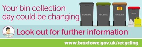 Your bin day could be changing