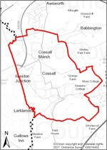 Cossall Parish Map