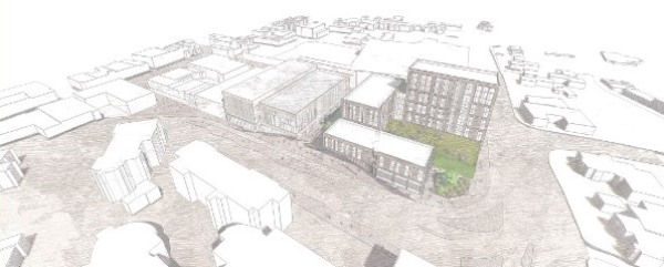 Artists Impression of Beeston Square Site