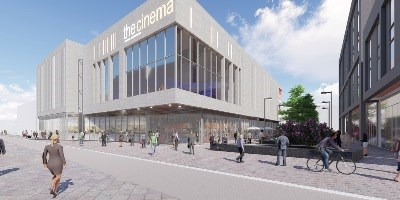 Artists Impression of Cinema from Styring Street