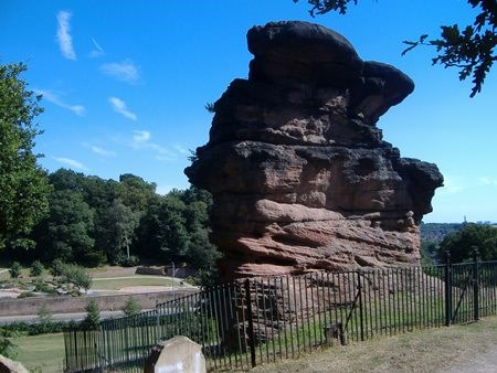 Hemlock Stone on Stapleford Hill