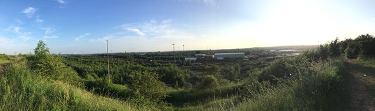 Panorama of Toton Sidings