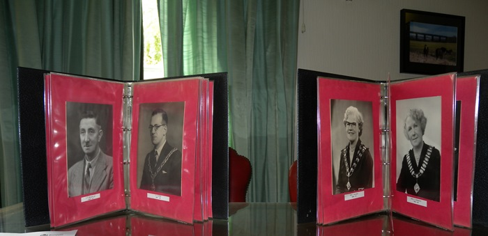 Pictures of old Mayors at previous Heritage Open Day