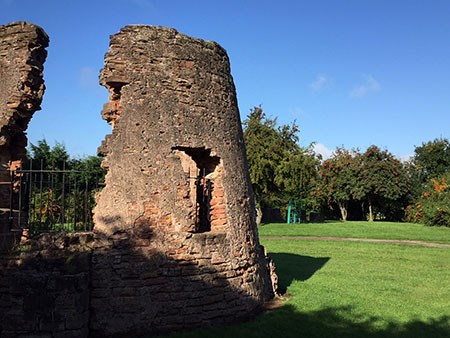 Windmill Ruins at Millfield Road Open Space