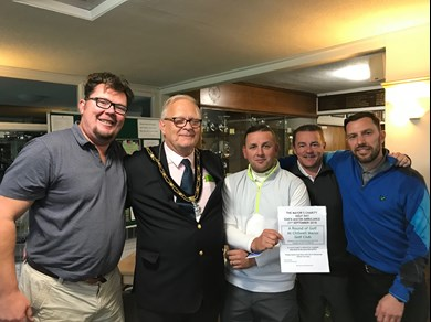 Charity Golf Day Winners