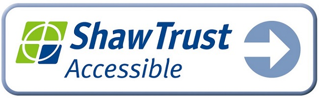 Shaw Trust Accessible Accreditation Badge and Logo