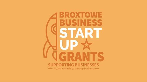 Broxtowe Business Start Up Grants Logo