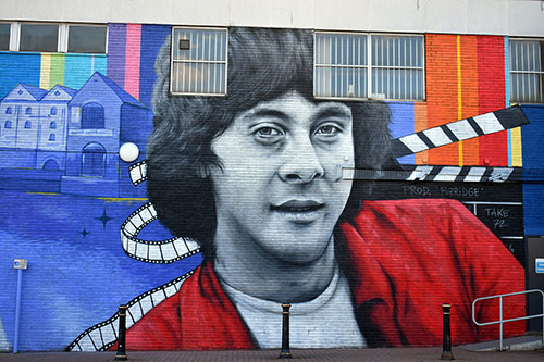 Richard Beckinsale on The Beeston Wall