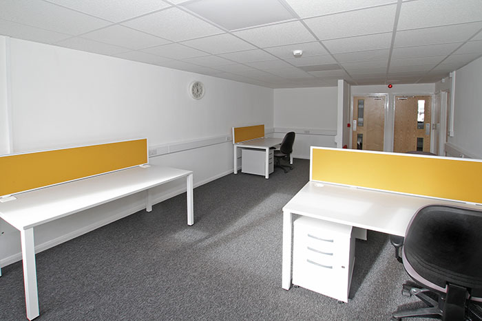 Desk space in Beeston Business Hub
