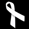 White Ribbon Icon
