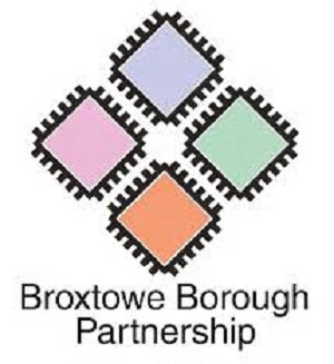 The logo for the Broxtowe Borough Partnership