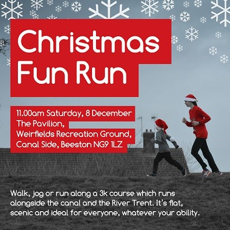 Christmas Fun Run Poster