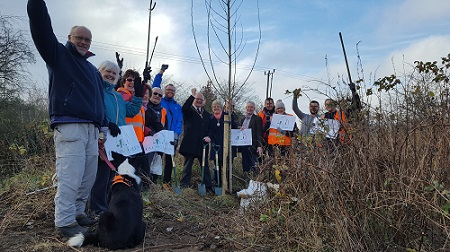 Volunteers at Toton Fields Community Litter Pick