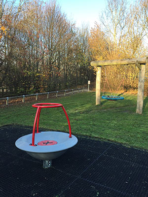 New play equipment at Shilo Recreation Ground