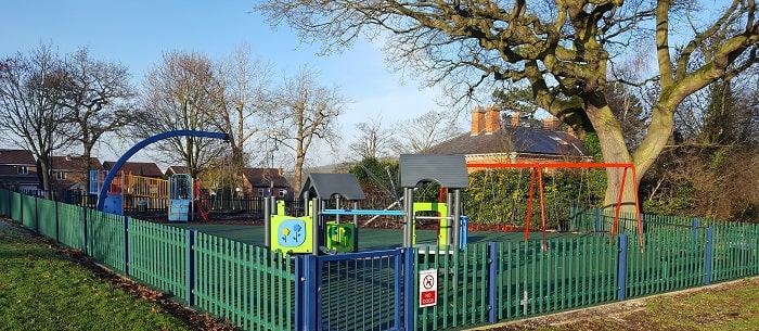 Refurbished Play Area at Mansfield Road Recreation Ground