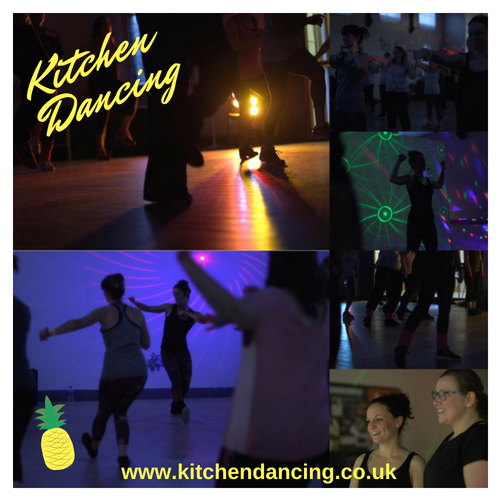 Kitchen Dancing - 80s & 90s dance fitness event.