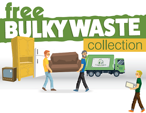 Free Bulky Waste Collection Poster