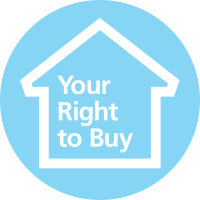 Right to buy logo
