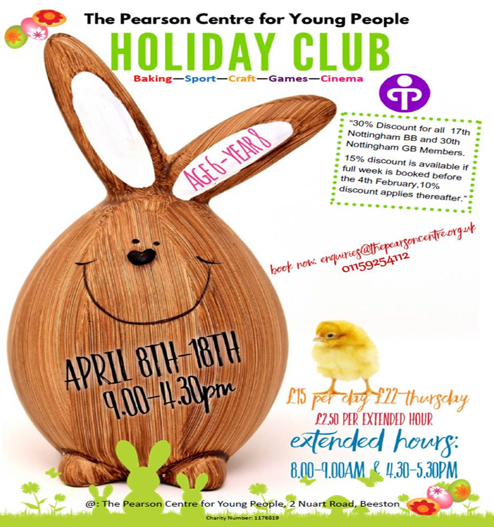 Holiday Club event.