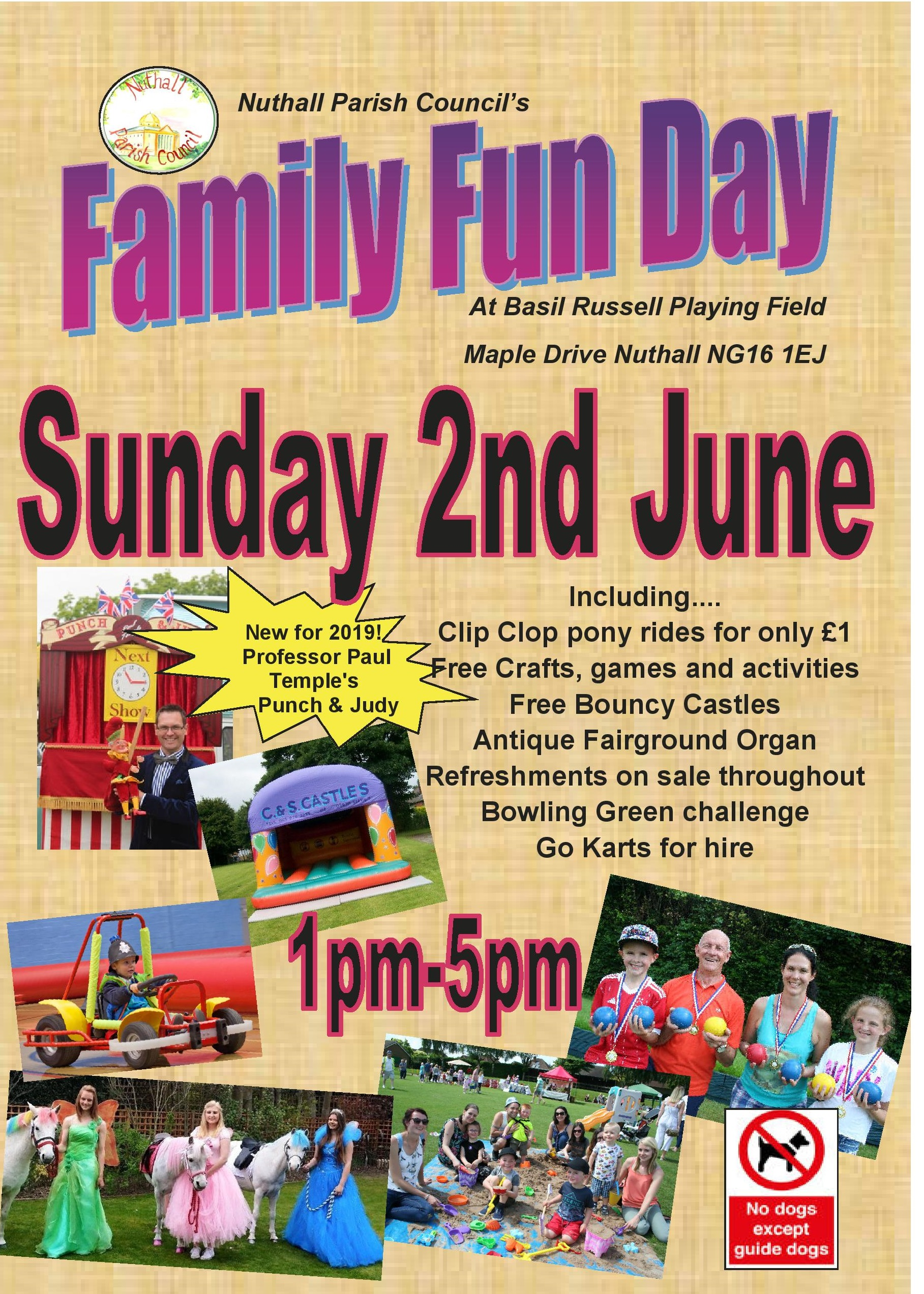 Family Fun Day event.