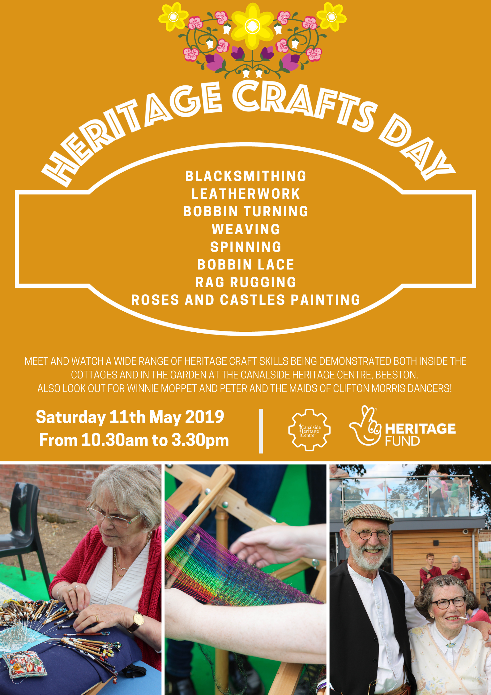 Heritage Crafts Day event.