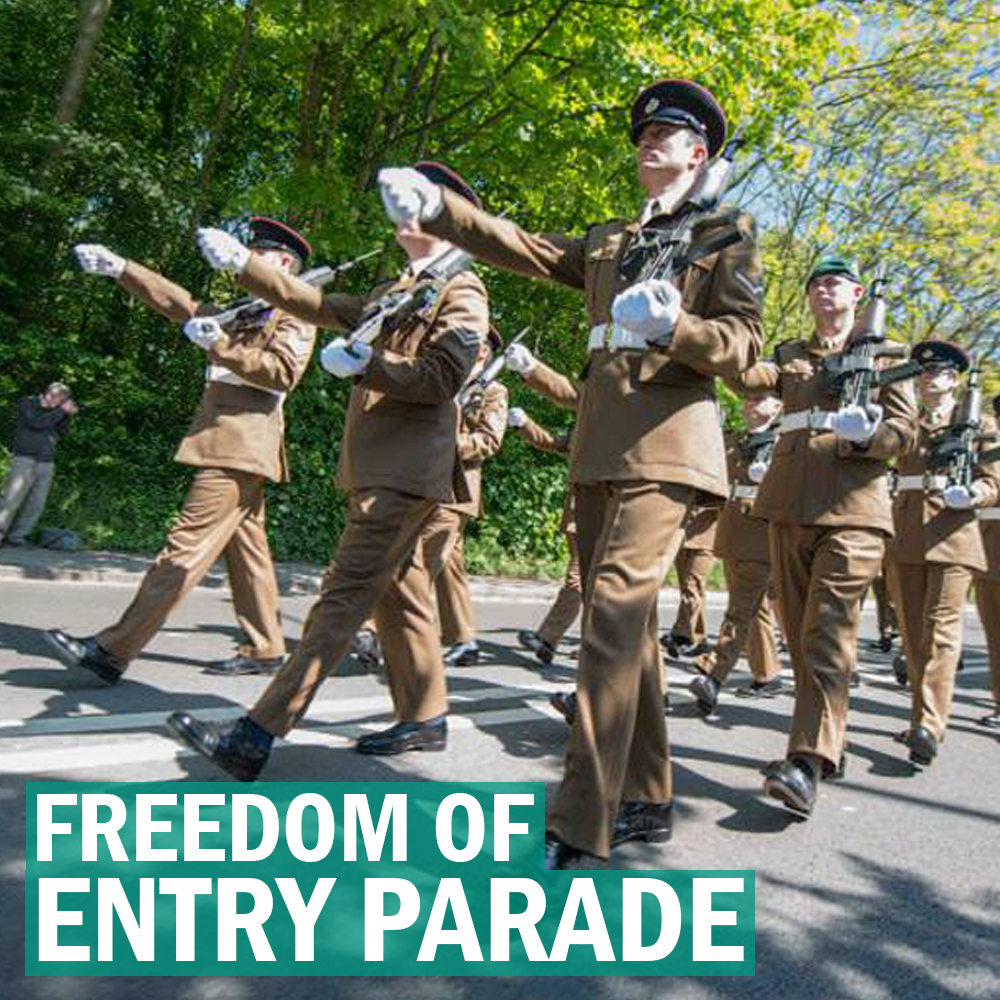 Freedom of Entry Parade 2019 event.