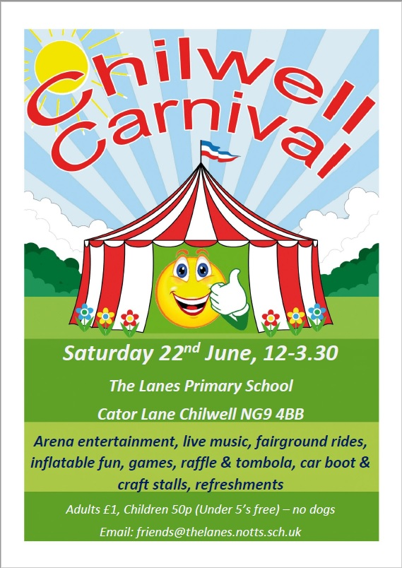 Chilwell Carnival event.