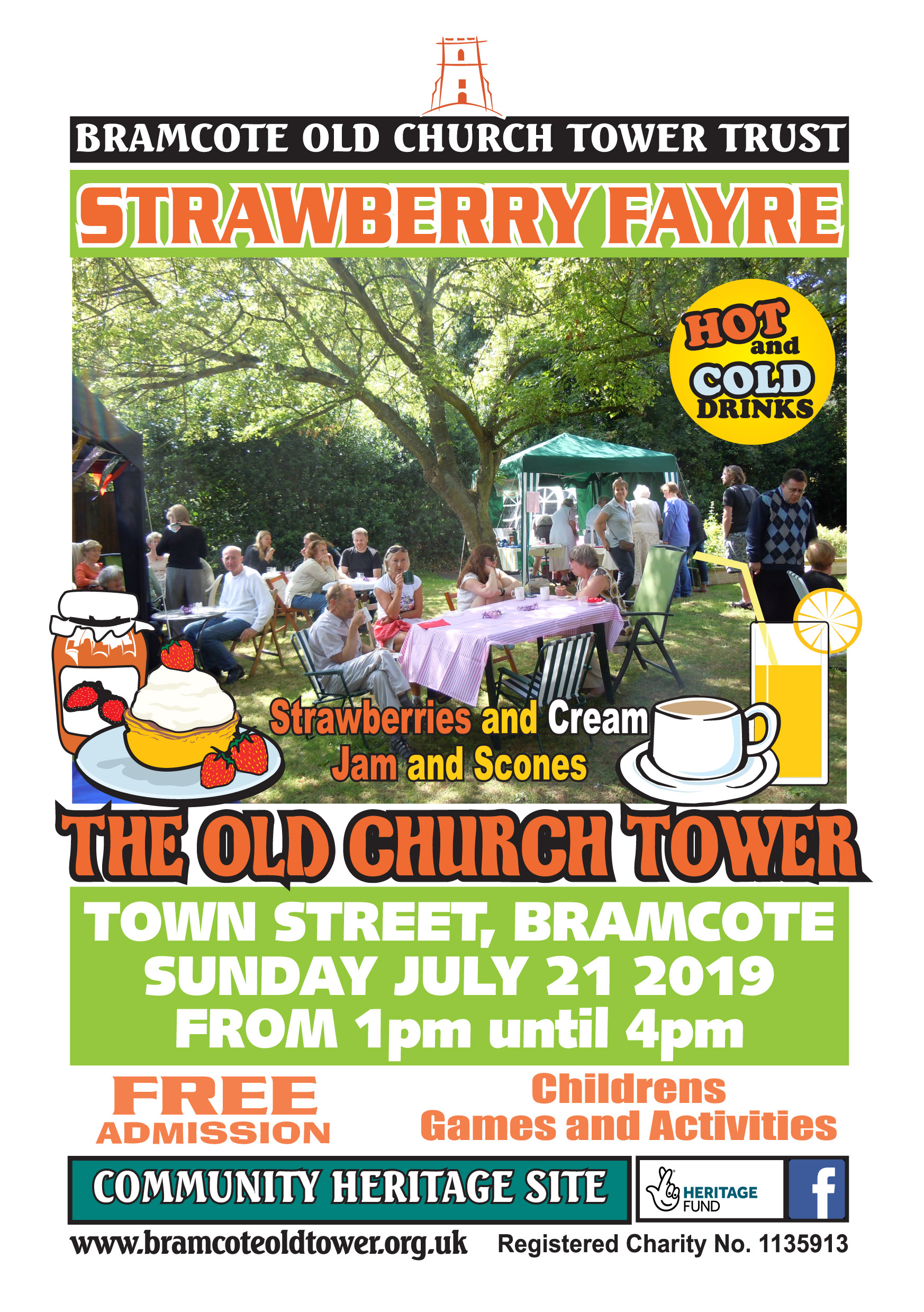 Strawberry Fayre event.
