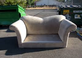 Old sofa for Bulky waste collection