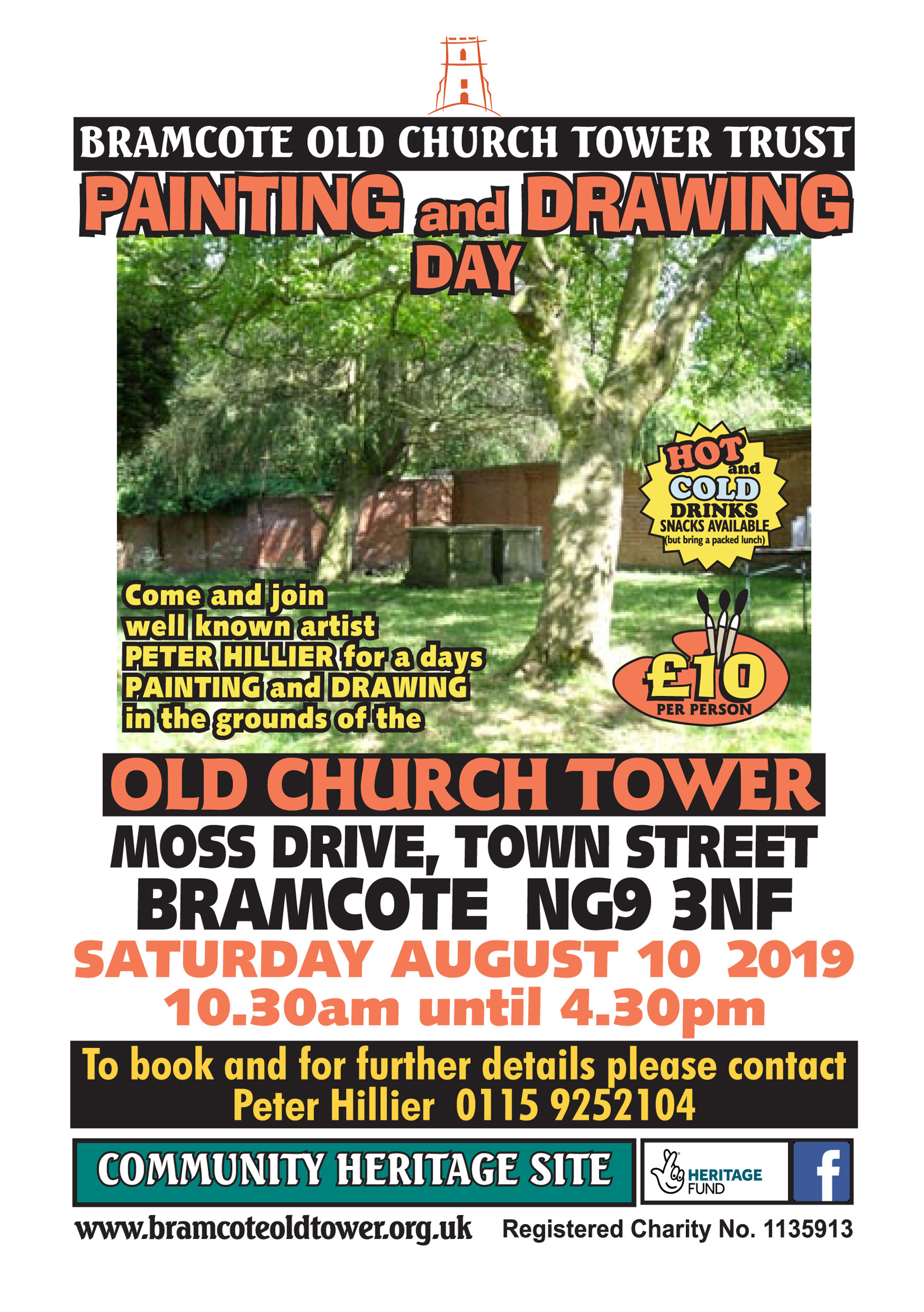 Painting and Drawing Day  event.
