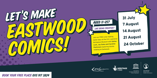 Let's Make Eastwood Comics : Broxtowe Borough Council
