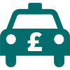 Current Taxi Fares Icon