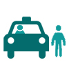 Taxis for Customers Icon