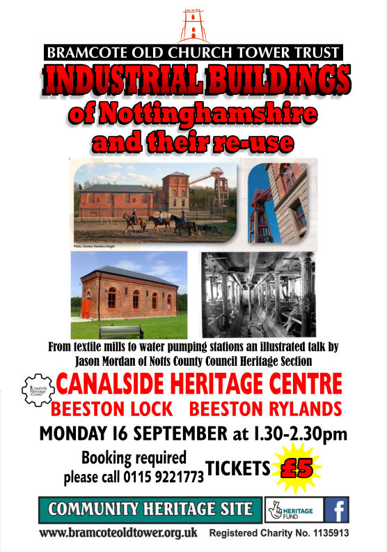 Industrial Buildings of Nottinghamshire event.