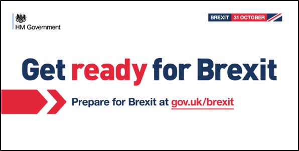 Get Ready For Brexit Government Banner