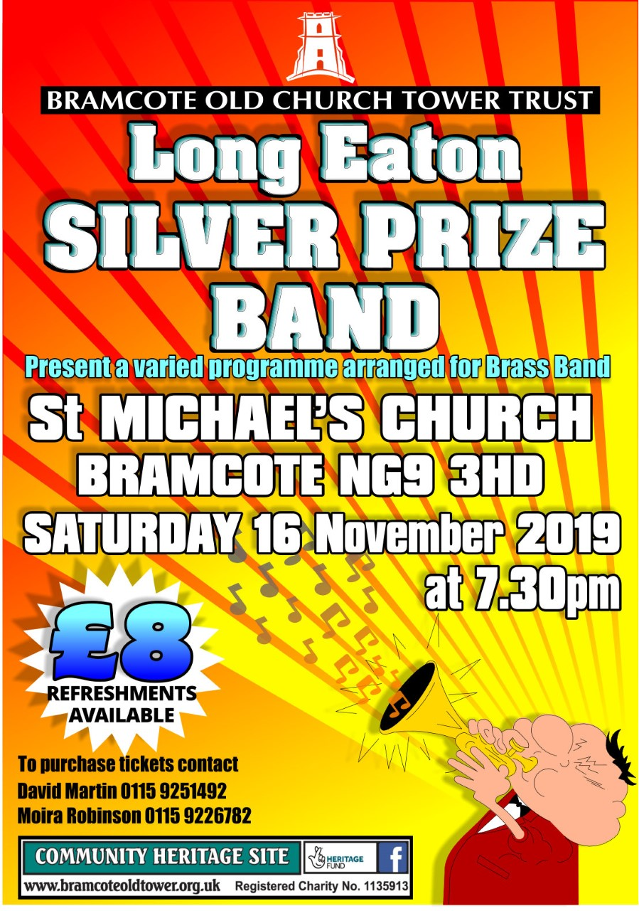 LONG EATON SILVER PRIZE BAND CONCERT event.