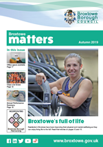 Broxtowe Matters Front Cover - Winter 2019