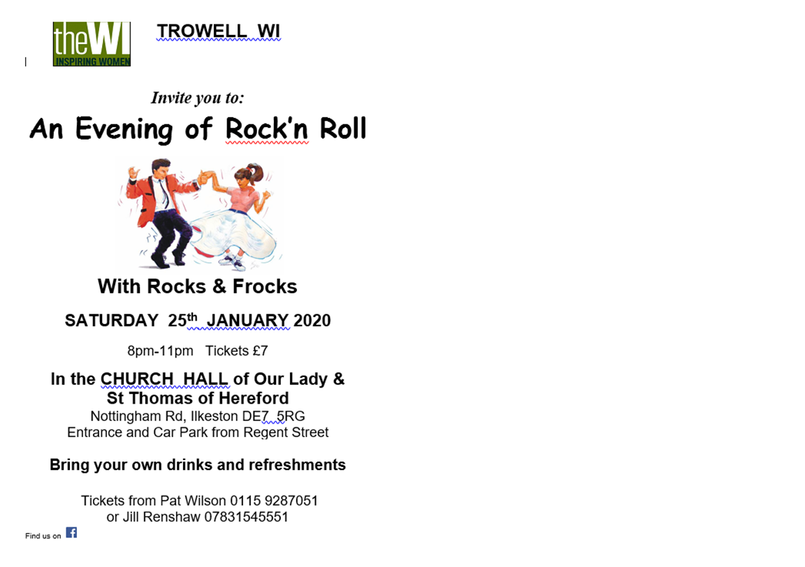 An evening of Rock'nRoll event.