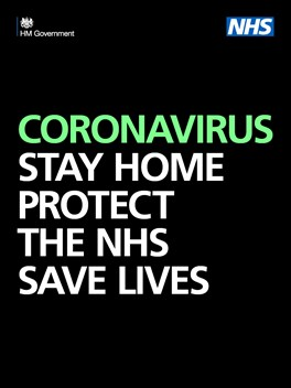 Coronavirus: Stay home, protect the NHS, save lives