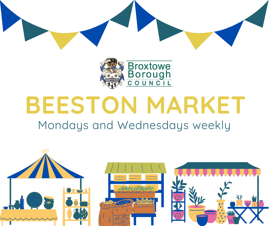 Beeston Market event.